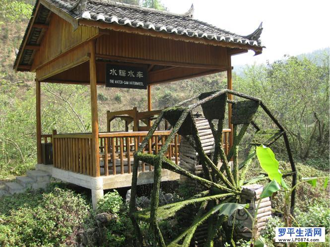 罗平旅游:多依河景点——水车