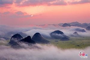 地理中国:东方花园听!罗平花开的声音