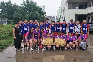 罗平县三中排球队在罗平县高中生排球联赛中荣获冠亚军