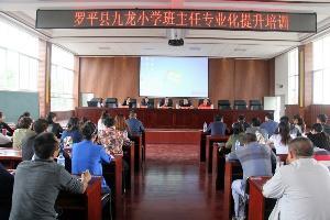 罗平县九龙小学注重班主任专业化提升