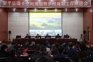 罗平县召开国土空间规划暨乡村规划工作推进会议