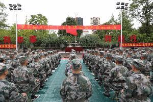 罗平县召开2021年下半年预定新兵役前教育训练动员会